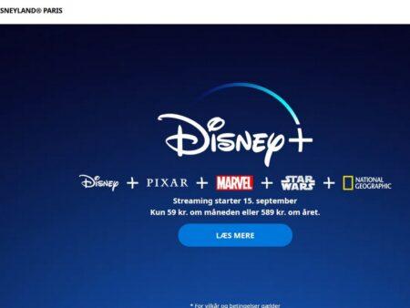 Sådan streamer du Disney+ og optager indholdet
