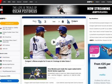 Få adgang til ESPN og sport med VPN